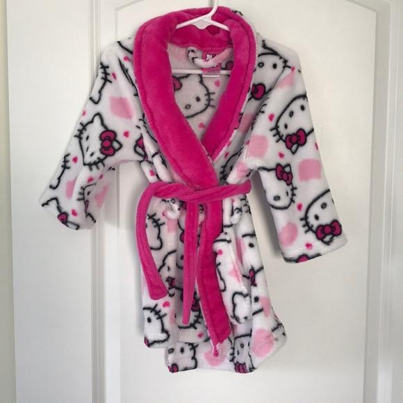 Hello Kitty Other - Hello Kitty Bath Robe 2T